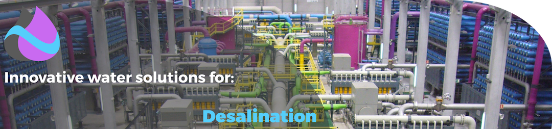 Desalination water treatment